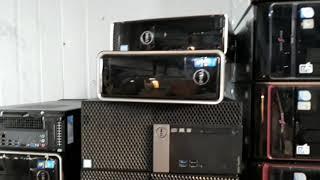중고컴퓨터 폐컴퓨터수거 동영상입니다.