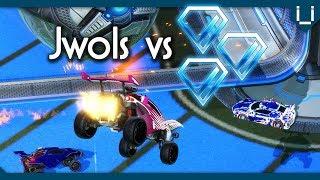 1 Pro Player vs 3 Diamond 1 Players | Rocket League 1v3