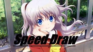 Charlotte ~ Nao Tomori ~ Speed Drawing