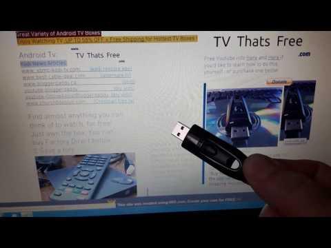 USB KODI TV FLASH DRIVE FOR TV? kodi-2017 MyVlog: http://vlogbits.com