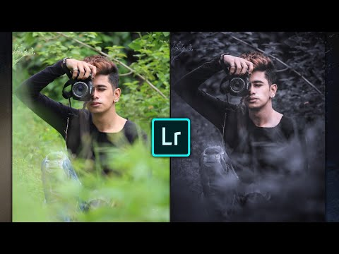 Dark Moody Lightroom Mobile Preset | Lightroom Mobile Tutorial