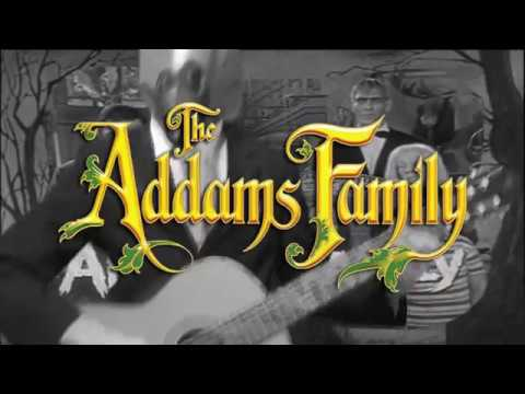 The Addams Family Theme Song (Guitar Cover)