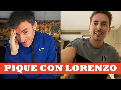 Pique Con Jorge Lorenzo   Ibon Zugasti