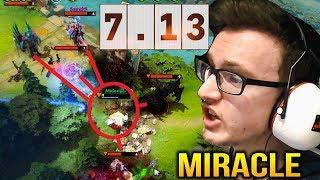 Miracle Dota 7.13 Update - 5 Heroes To Kill Him??