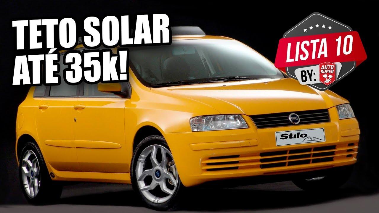 10 CARROS LEGAIS COM TETO SOLAR POR R$35.000,00 (by membros)