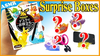 UNBOXING LOTS OF POKEMON BLIND BAG RE-MENTS Mystery Miniatures hollhouse rements Satisfying Asmr