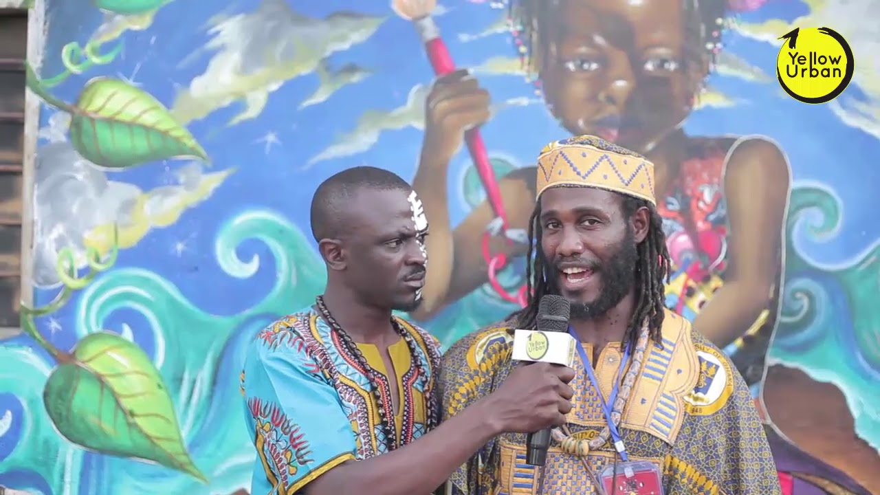 Dr. Obadele Kambon About African's Unity at Chale wote Street Art Festival 2017