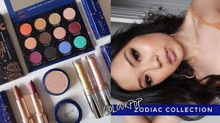 COLOURPOP ⋆ KATHLEENLIGHTS X ZODIAC COLLECTION ⋆ 4 Looks, Review + Swatches
