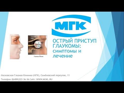 Острый приступ глаукомы - причины, симптомы и первая помощь (лечение)