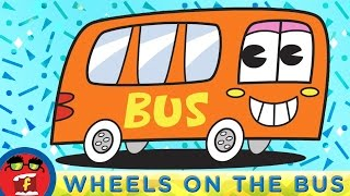 Wheels On The Bus With Dinosaurs Fredbot Nursery Rhymes Lucy the Dinosaur
