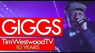 Giggs FIRE freestyle! Goes HARD!! Tim Westwood TV over 10 Years Celebration