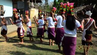 Kom tribe dance in North East India