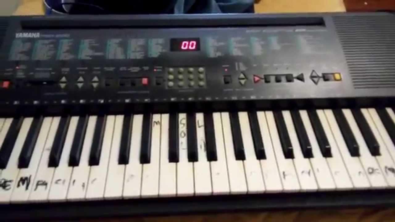 tastiera musicale yamaha psr 200 il pianoforte suonato. Black Bedroom Furniture Sets. Home Design Ideas