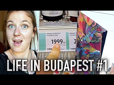 Working from home, Making friends & Homeware haul | Life In Budapest #1 🇭🇺