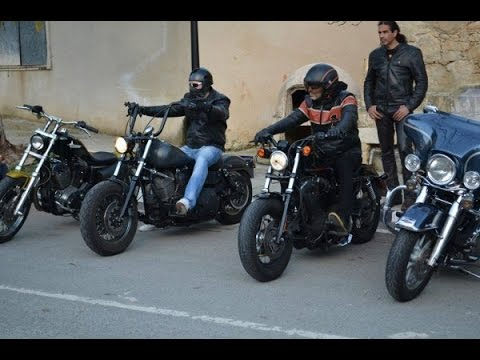 Motorcycle ride Cyprus,Harley Davidson Club,ride to Limassol part four
