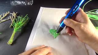 Water and Nature - Drawing with 3D Pen