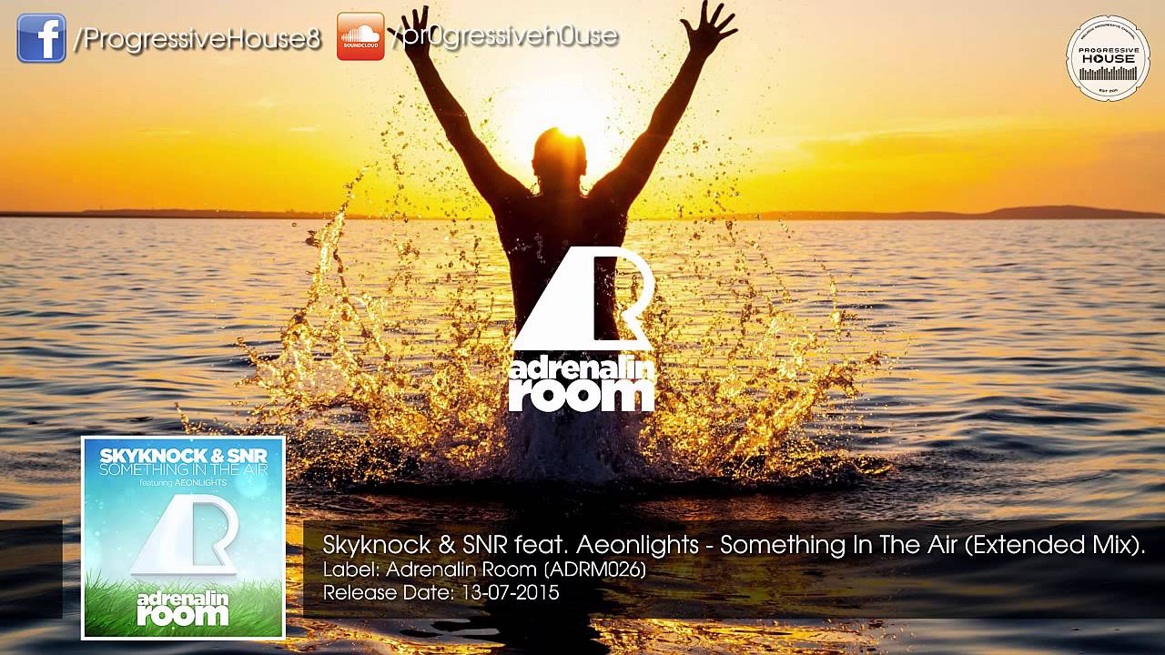 Download Skyknock & SNR feat. Aeonlights - Something In The Air (Extended Mix) [Adrenalin Room]