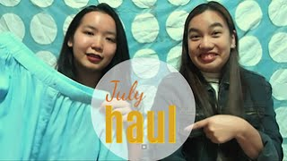 July haul!!! From shops in Singapore, ASOS, H&M and more!
