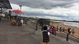 2、スペイン語圏南米のんびりライフ PARAGUAY  アスンシオンの川岸 Costanera de Asuncion