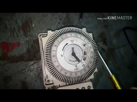 STREET LIGHT TIMER SETTING & CONNECTION WITH PRACTICAL - YouTube