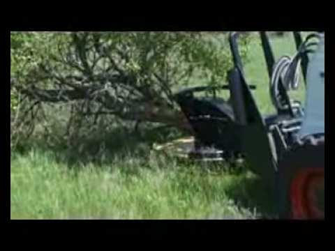 Tree Saw Dymax Qwiksaw For Land Clearing Youtube