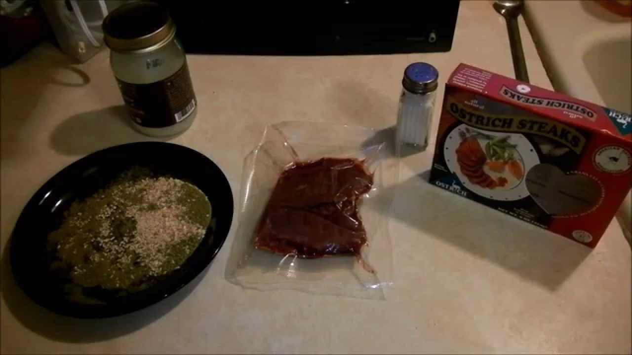How to Cook the BEST Ostrich Steak!!!
