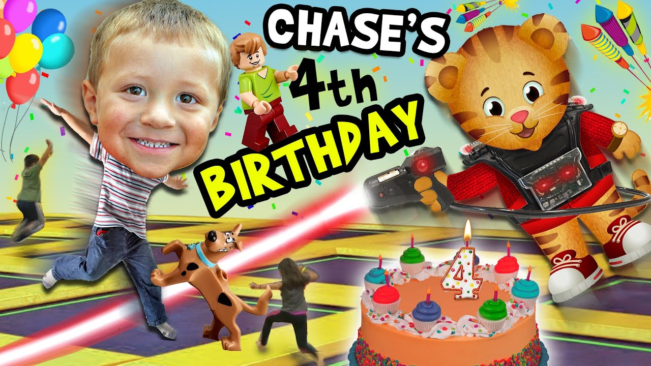 Chase S 4th Birthday Party Adventure Never Ending Fun W