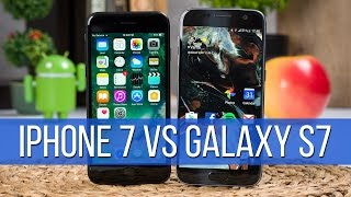 Apple iPhone 7 vs Samsung Galaxy S7