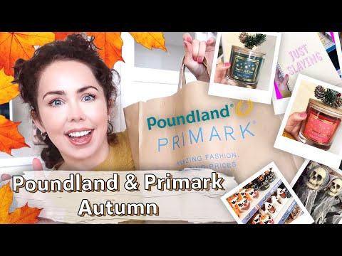 POUNDLAND & PRIMARK HAUL AUTUMN 2019 | What's New In Poundland and Primark ?