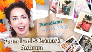 POUNDLAND & PRIMARK HAUL AUTUMN 2019 | What's New In Poundland and Primark ?