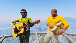 GTA 5 Fails Compilation #17(Walk with Michael And Franklin/Funny Moments/Thug life)