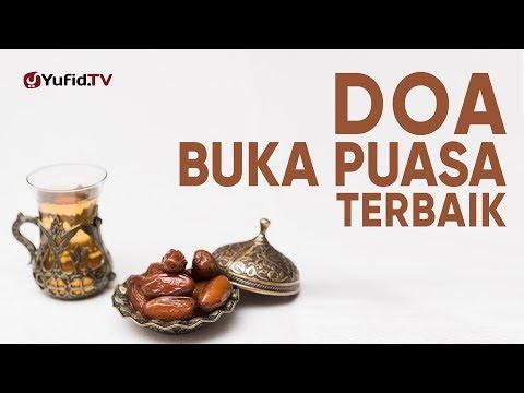 Ceramah Singkat: Doa Buka Puasa Terbaik – Ustadz Johan Saputra Halim, M.H.I.