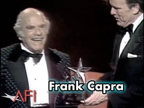 Frank Capra Accepts the 10th AFI Life Achievement Award in 1982