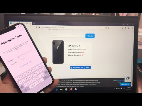 HOW TO UNLOCK ✔️REMOVAL ✔️BYPASS ✔️RESET ICLOUD ACTIVATION LOCK WITH ITUNE
