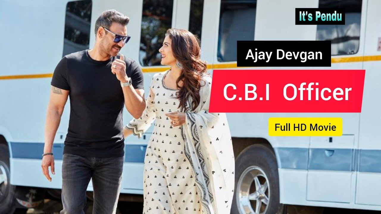 Download Ajay Devgan Action Movie ( C.B.I OFFICER ) Full HD 1080p It's Pendu