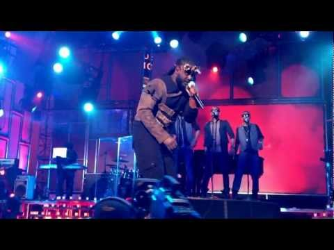 T-Pain after concert from Jimmy Kimmel Live! (December 06, 2011) Part One
