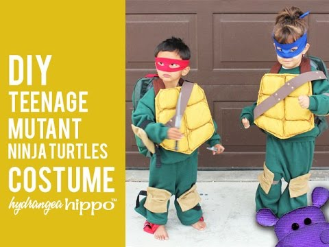 Diy teenage mutant ninja turtles kids costumes youtube diy teenage mutant ninja turtles kids costumes solutioingenieria Image collections