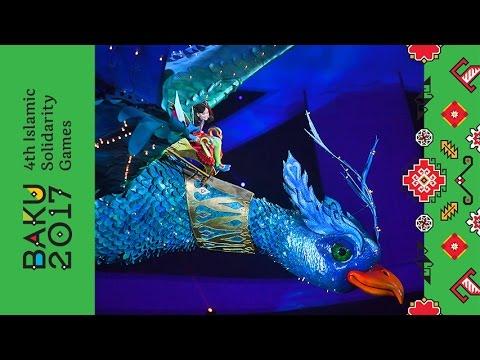 Bakı 2017 IV İslam Həmrəyliyi Oyunlarının Açılış Mərasimi