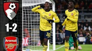 Arsenal vs Bournemouth 2-1 | All Goals & Extended Highlights | 2020