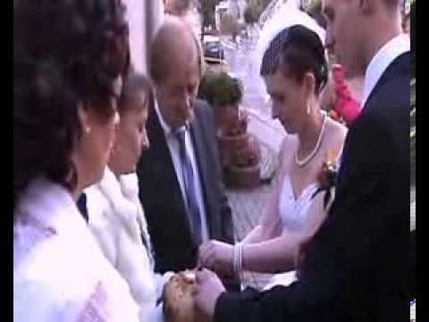 Dariaus ir Justinos vestuvės. Lenkija Jeziorany A&Kordas- Zono moja