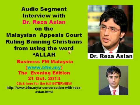 "Dr Reza Aslan on Malaysia's Court Ruling Preventing Christians Using the Word ""ALLAH"""
