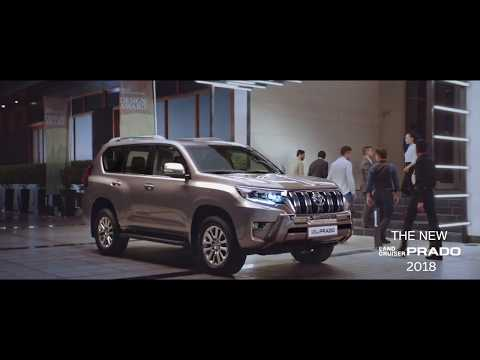SAUD ABBASI MD of Toyota at Al-Futtaim Motors unveils Prado 2018 in Dubai