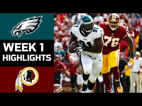 Eagles vs. Redskins | NFL Week 1 Game Highlights