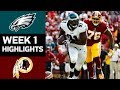 Download Eagles vs. Redskins | NFL Week 1 Game Highlights