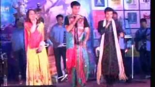 Royal Garba-2009 Devang Patel with Jai Ambe