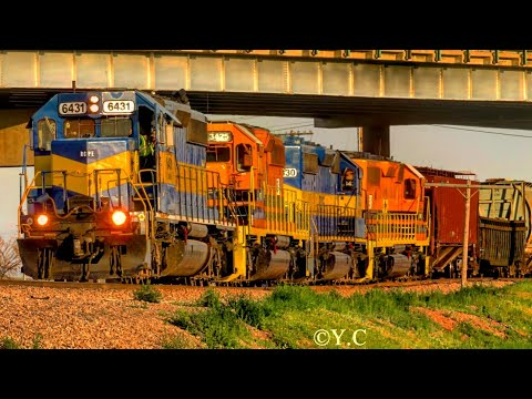 Rapid City, Pierre, & Eastern (RCPE) train in Rapid City, South Dakota