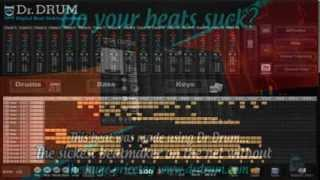 How to make your own beats - Easy software Dr Drum