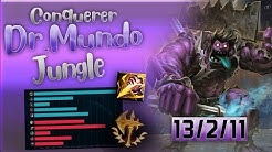 CONQUEROR MUNDO IS BEYOND BROKEN!!! HARD CARRY FROM JUNGLE [Full Gameplay]