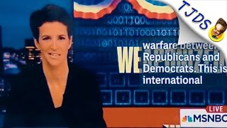 Rachel Maddow Has Lost Her Mind & People Are Noticing