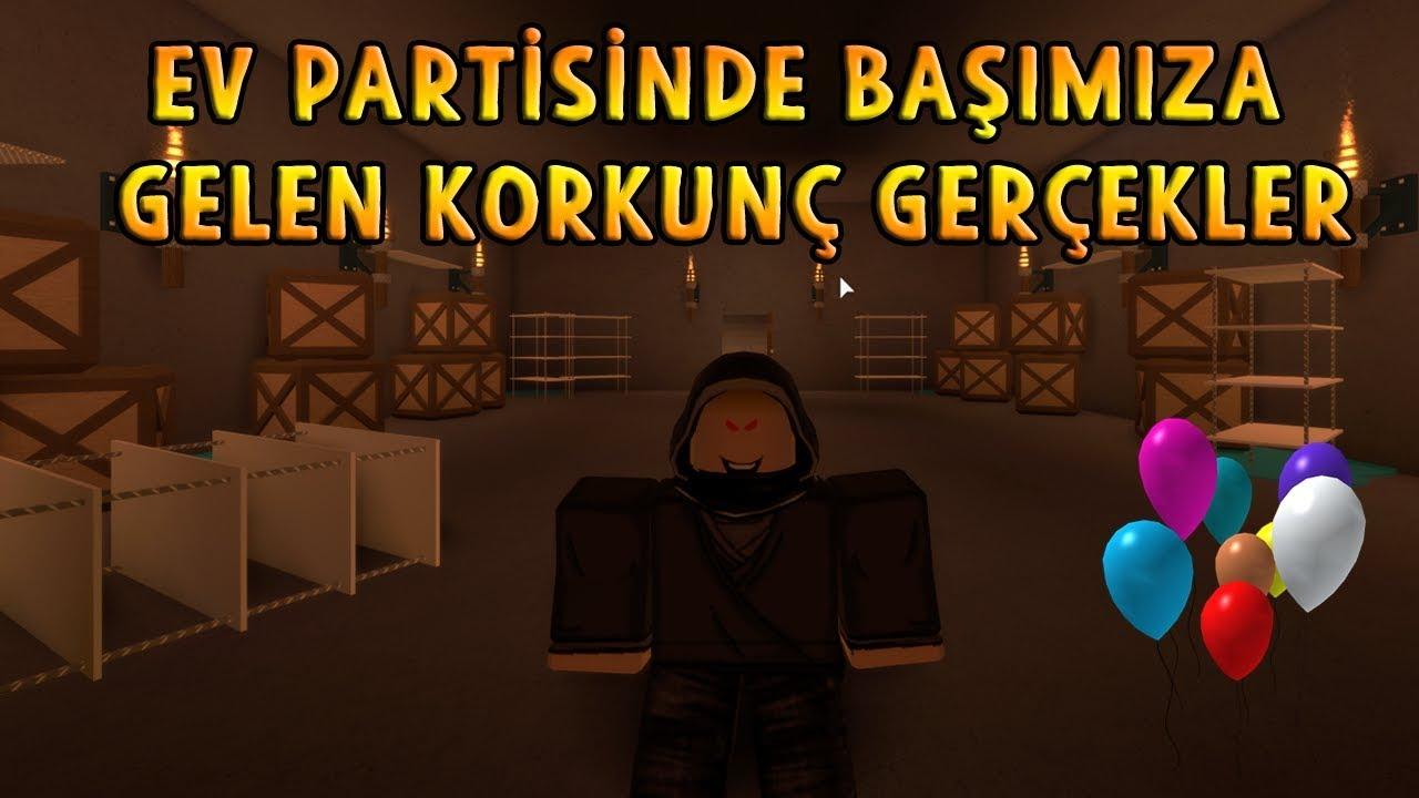 ARKADAŞIMIN EV PARTİSİNDE BAŞIMIZA GELEN KORKUNÇ OLAYLAR! - Roblox